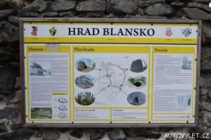 Zřícenina hradu Blansko 4