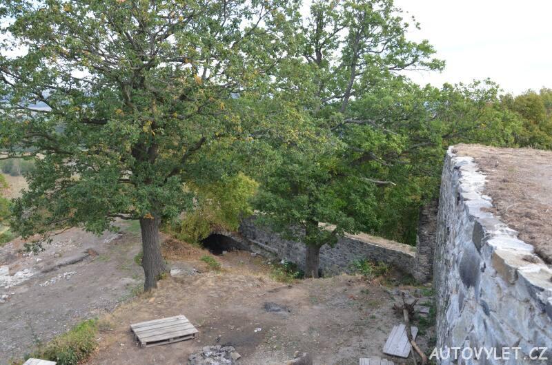 Zřícenina hradu Blansko 10