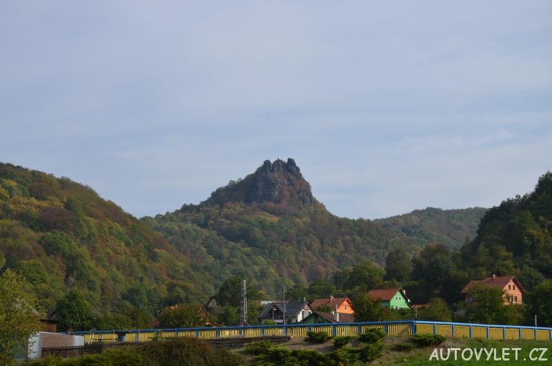 Zřícenina hradu Vrabinec