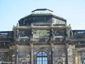 Zwinger Drážďany Německo